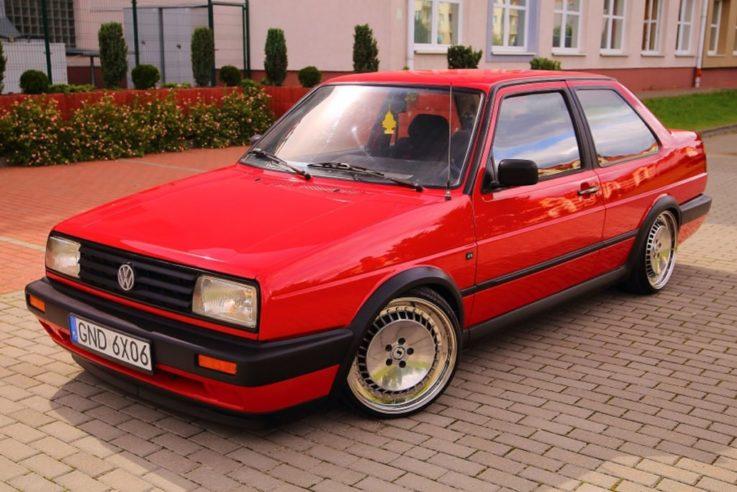 Второе поколение Volkswagen Jetta