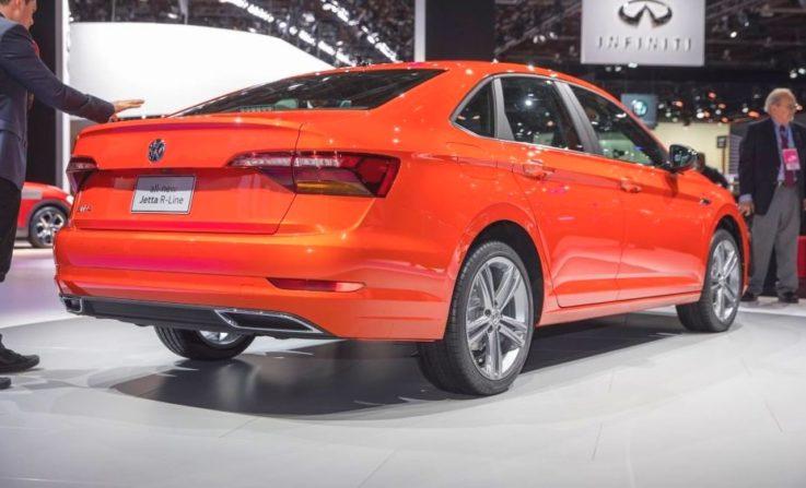 Volkswagen Jetta 2019 года выпуска