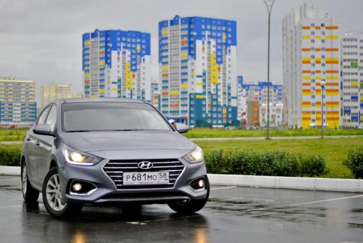 Hyundai Solaris второго поколения