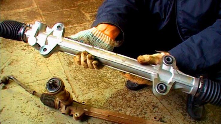 Инструкция по замене рулевой рейки