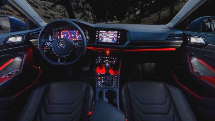 Оснащение салона Volkswagen Jetta