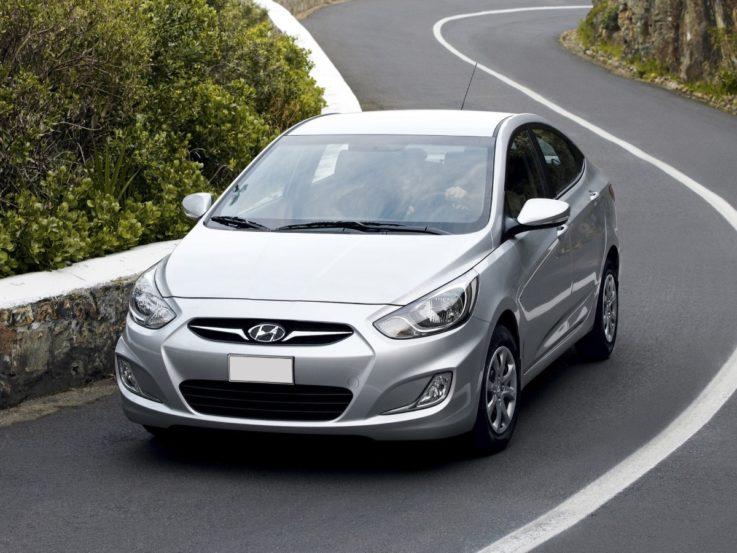 Первое поколение Hyundai Solaris