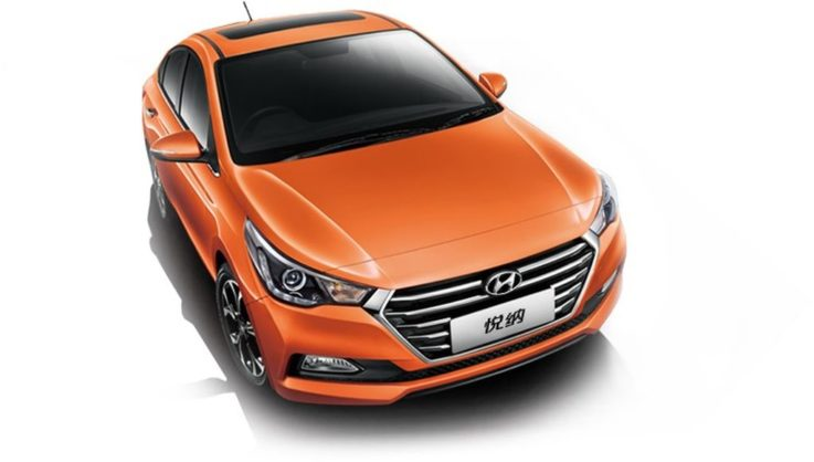 Внешний вид Hyundai Solaris