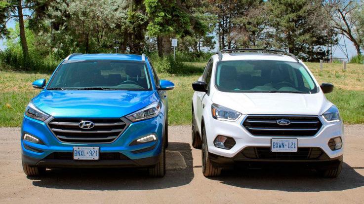 Конкуренты Ford Kuga